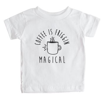 Coffee Is Friggin Magical Baby Tee