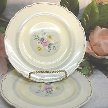 Royal Doulton, China Dinnerware Pattern # V1865 Burnham set 2 salad plate