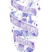 We Are The Weirdos Sticker