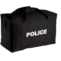 Canvas Large Police Logo Gear Bag