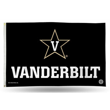 Vanderbilt Commodores NCAA 3in x 5in Banner Flag
