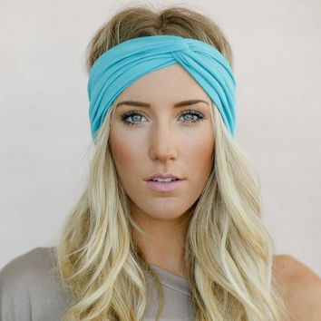 Turban Twisted Jersey Headband