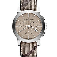Burberry - Check Stainless Steel Chronograph Watch - Saks Fifth Avenue Mobile