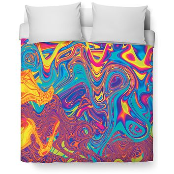 Oil Spill Duvet Cover
