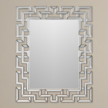 Luanne Rectangle Oversized Wall Mirror