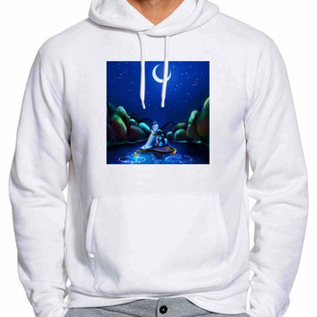 Aladdin Jasmine With Moon 294 Man Hoodie and Woman Hoodie