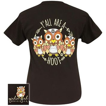Girlie Girl Originals Preppy Yall Are A Hoot Owl T-Shirt