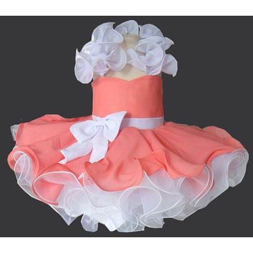 flower girl dresses for wedding baby girl party dress tutu style corset back free shipping