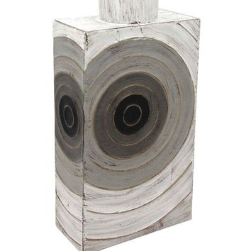 Eye-Catching Metal Decorative Vase, Multicolor -SageBrook Home