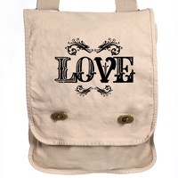 LOVE Design Messenger Bag - Field Bag