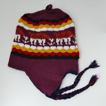 Hat Chullo Reversible Two In One Unique Designs