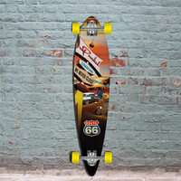 "Route 66 Pintail Diner Punked 40"" Longboard"