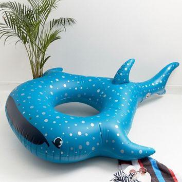 Big Mouth Whale Shark Pool Float Inflatable at asos.com