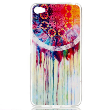 For Lenovo S 90 Case Colorful Pattern Watercolor Dream Catcher Slim TPU IMD Phone Cover Case For Lenovo Sisley S90