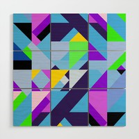 Geometric XIX Wood Wall Art by tmarchev