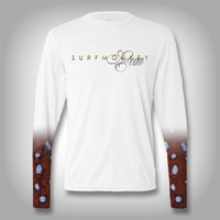 Grouper Scale Sleeve Shirt -  SurfMonkey - Performance Shirts - Fishing Shirt