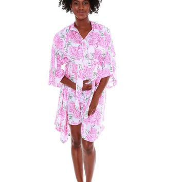 Rosalie Luxurious Delivery Nursing Robe