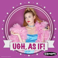 Clueless Cher Ugh As If Teen Comedy Movie Film Poster Print 12 by 24