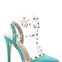 Mint Rubicon Point Heels