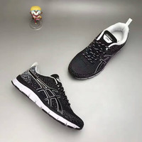 """ASICS"" Fashion Casual Breathable Knit Fly Line Unisex Sneakers Couple Running Shoes"