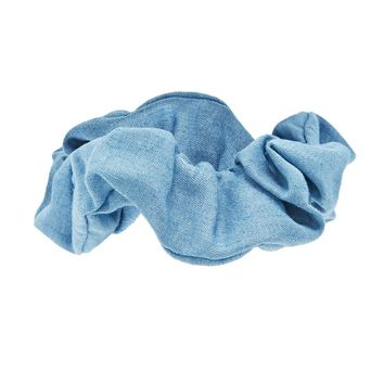 Chambray Denim Scrunchie