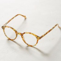 Mylene Rounded Reading Glasses by Anthropologie