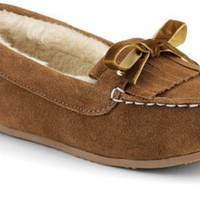 Sperry Top-Sider Holly Slipper TanSuede, Size 6M  Women's Shoes