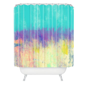 Allyson Johnson Celebration Shower Curtain