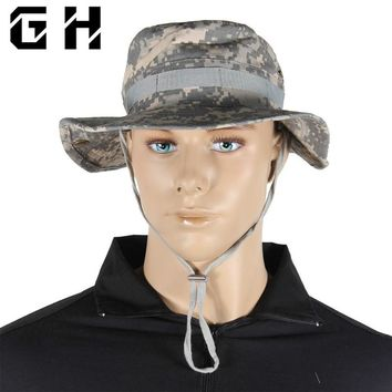 Tactical Airsoft Sniper Camouflage Boonie Hats Nepalese Cap Militaries Army Mens American Military Accessories Hiking A-tacs FG
