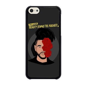 the weeknd bbtm beauty behind the madness iphone 5c case cover  number 1
