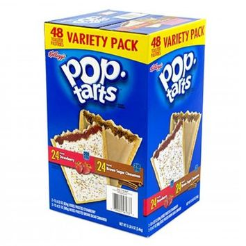 KELLOGG'S POP TARTS TWIN PACK 48 3 LB