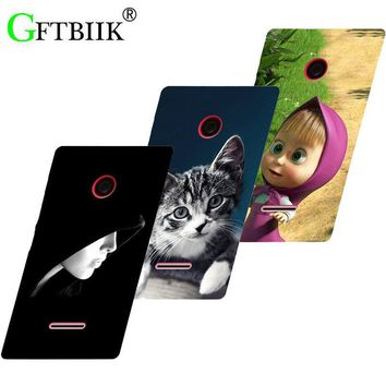 Hot Ultra Thin Back Cover For Nokia Microsoft Lumia 532 Protective Phone Case Horse Dog Cat Handsome Tiger Fruits Cases