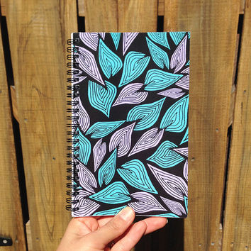 Autumn Leaves | Spiral Notebook | Sketchbook | Agenda