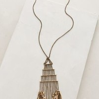 Kingbird Pendant Necklace by Anthropologie Gold One Size Necklaces