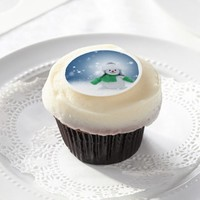 Snowman Christmas Edible Frosting Sheets