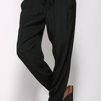 Right Direction Pants Black