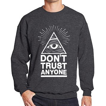ca qiyif Dont Trust Anyone Eye printed Hoodie