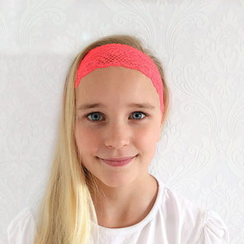 Baby, Child Headband, Stretchy Headband, Fashion Hair Accessories, Head Wrap, Shabby Chic, Ear Warmer, Sweatband, Child Teen Gift Idea.
