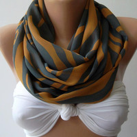 Dance of the Colors Collection ..... Infinity - Loop - Circle - Elegant - Chiffon - Feminine - Summer - Shawl - Scarf