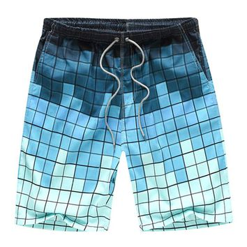 Men's Loose Beach Shorts Printing Quick Dry Shorts Surfing Beach Pants Summer 4XL Plus Size Swimming shorts