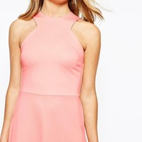 River Island 2 In 1 Waisted Mini Dress