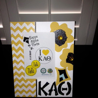 Kappa Alpha Theta Greek Sorority Decorative Frame