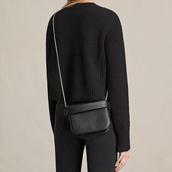 ALLSAINTS US: Womens Echo Clutch (Black)