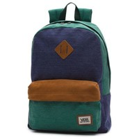 Vans Old Skool II Backpack (Peacoat/Pine)