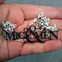 Of Mice & Men Inspired Necklace Necklace by BurritoPrincess