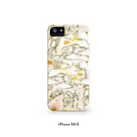 Marble - White - iPhone 5S Case