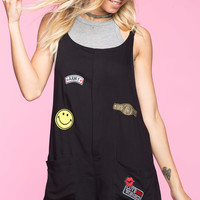 Patched Up Romper