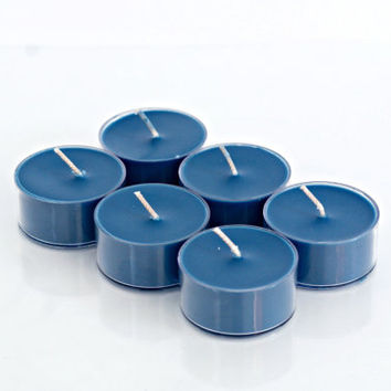 Manly Candles - Aqua di Gio Scented Handpoured Soy Tea Light Candles (Please Choose Your Pack)