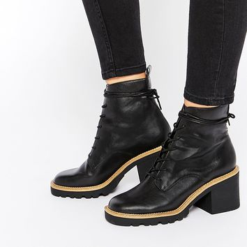 ASOS REPRO Lace Up Ankle Boots