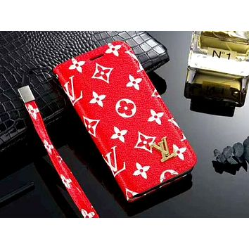 LV & GUCCI & Burberry Tide brand wristband all-inclusive holster iphone7 mobile phone case #3